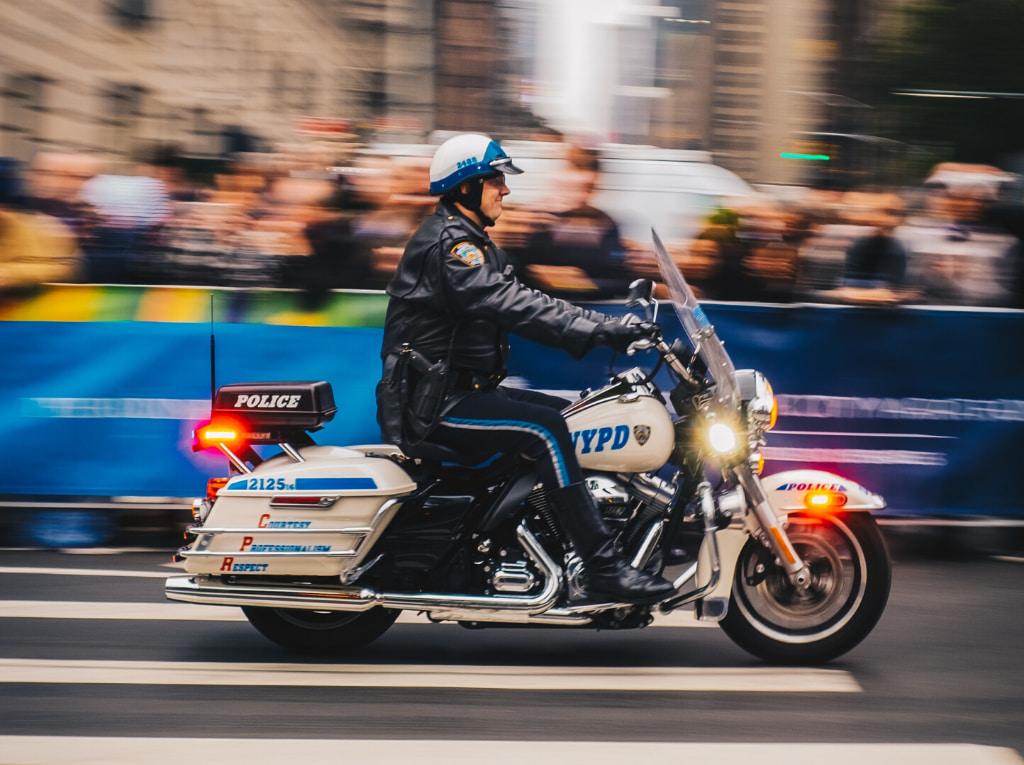 Policía motorizado