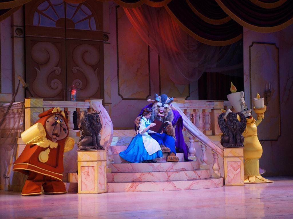 obra de teatro La Bella y la Bestia
